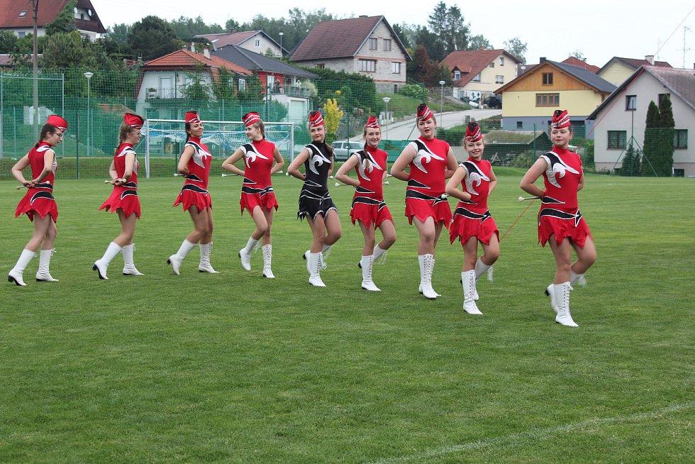 Slavnostní zahájení Magic cupu Šumava 2018 v  Dolním Dvořišti.