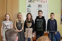 Velké nervy zavládly v pátek po obědě se na českokrumlovské ZŠ T. G. Masaryka, konalo se školní kolo recitační soutěže a pro mnohé z účastníků to bylo vůbec poprvé, co veřejně předstoupili před publikum a porotu,