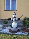 Sněhuláka na ozdobu poslal Radek Calta. Foto: Radek Calta
