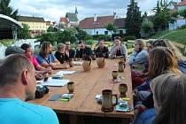 Součástí Arcampu byl Kulturní kruh v klášterní zahradě, kde rozmanití činovníci z umělecké oblasti debatovali, jakým směrem by se měla ubírat drobnější kultura ve městě.