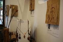 Zdeněk Korbela nemohl chybět na vernisáži výstavy v římovské galerii.