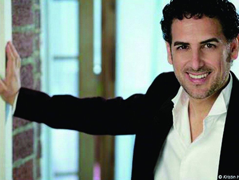 Hvězda Mezinárodního hudebního festivalu Č. Krumlov 2016 Juan Diego Flórez.