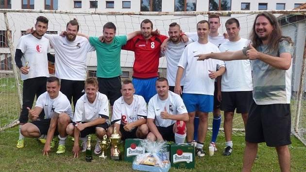 Nejlepší tým 18. ročníku turnaje O pohár starosty Besednice – domácí tým Real Besednice.