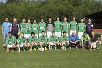 První tým FK Slavoj Český Krumlov, který zakončil sezonu 2013/2014 v áčkové divizní skupině na výsledném jedenáctém místě.