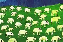 Ovečky. Martin Šítal.