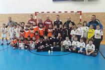 Halový turnaj kategorie mladších přípravek – Větřní Cup 2019.