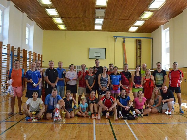 Společné foto po turnaji vKřemži.