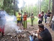 Organizátoři Pohádkového lesa na Dubíku připravili dětem příjemné odpoledne.