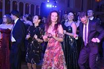 4. Reprezentační ples města Český Krumlov se konal v sobotu v zámecké jízdárně.