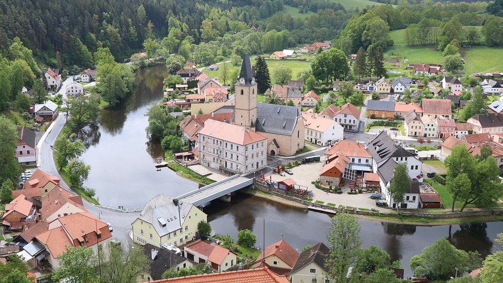 Město Rožmberk