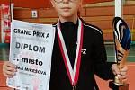 Krumlovští žáci na celostátním turnaji kategorie U13 v Mostu.