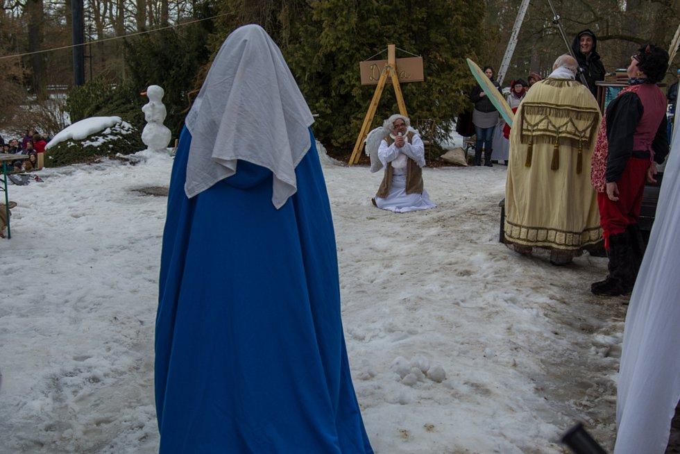 Diváci se při krumlovské pohádce Anděl Páně 1 skvěle bavili.