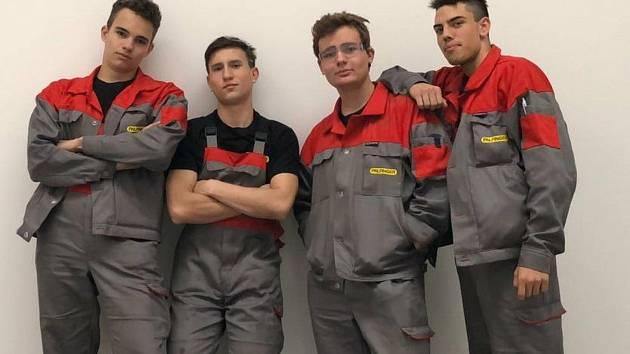 Stáž velešínských studentů ve strojírenství a elektrotechnice ve Slovinsku.