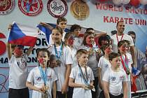 Krumlovský oddíl Panthers vyslal na MS do gruzínského Tbilisi patnáctku nadějí, která vybojovala úctyhodnou sbírku devětadvaceti medailí.