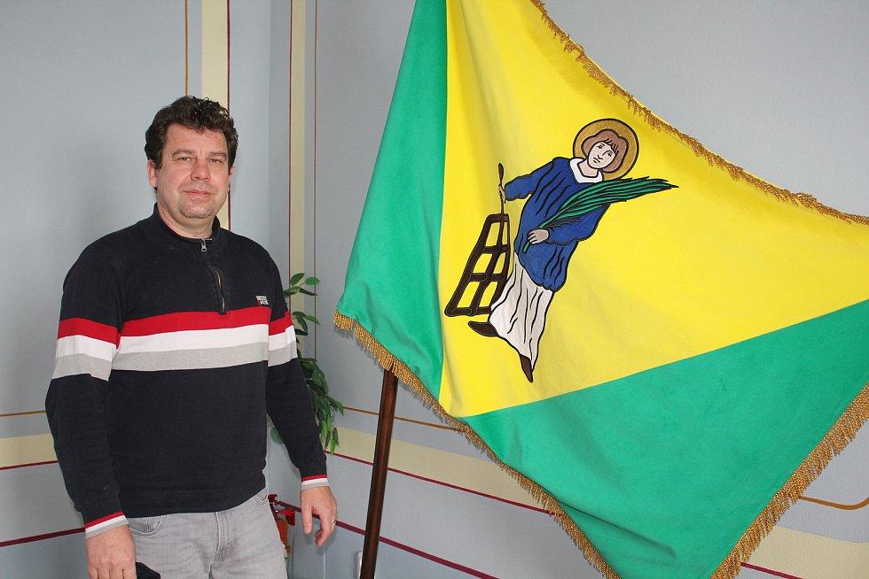 Městys Přídolí a jeho starosta Vítězslav Jílek.