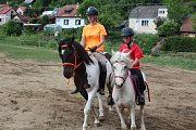 Prezentace koní a jezdců Stáje Pohoda v Dobrkovicích.