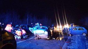 V úterý ráno došlo u Šebanova na I/39 u Hořic na Šumavě k nehodě.