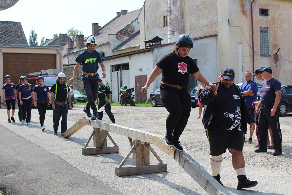 Pralesní liga v Černé v Pošumaví 2019.