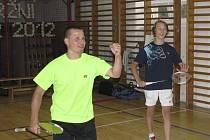 Při loňském 21. ročníku Veletržního poháru svedl los k sobě vítěznou dvojici ze sezimoústeckého Vladislava Holce a velké domácí žákovské naděje Petra Berana (zleva).