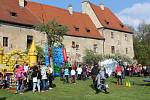 Český Krumlov přivítal měsíc lásky v Pivovarských zahradách.
