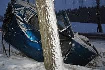 Řidič vozu nevlastnil řidičský průkaz.