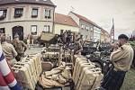Českokrumlovskem projel konvoj armádních veteránů.