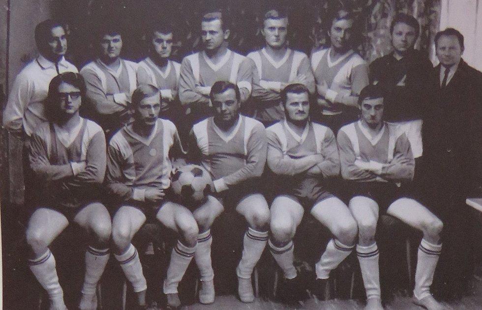 Fotbal v Kaplici píše stoletou historii. Vítěz OP 1970/71.
