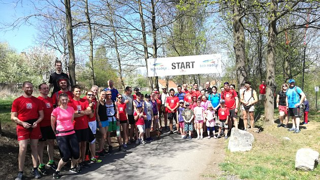 Účastníci Chlu-chlu před startem.