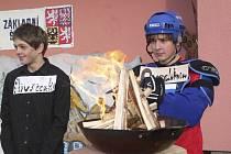 Zahájení olympijských her v loučovické základní škole.