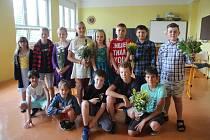 Poslední školní den v Základní škole v Křemži.