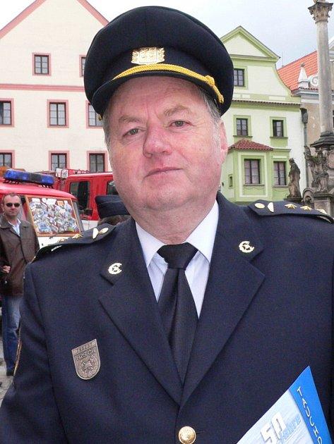 Ředitel Hasičského záchranného sboru Český Krumlov Pavel Vejvara.