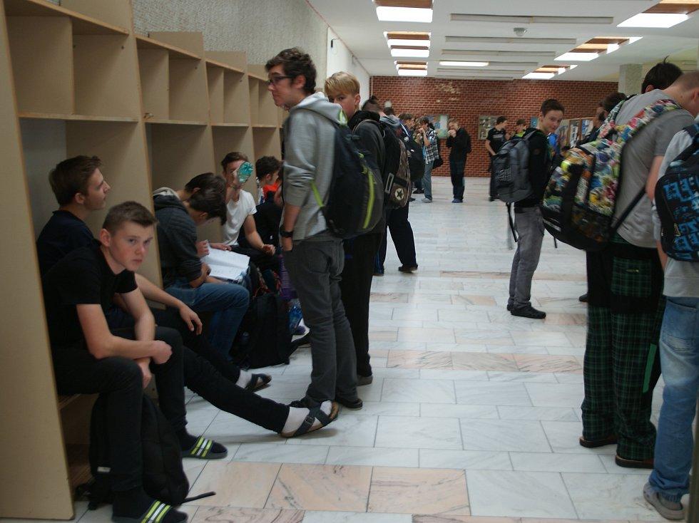 Job Day ve Střední odborné škole strojní a elektrotechnické ve Velešíně.
