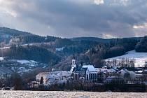 Město Vyšší Brod.