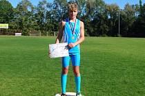 Kapličák Jakub Janda se stal jihočeským mistrem v běhu na 1500 metrů mezi mladšími žáky.
