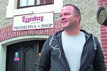 Jiří Shrbený, manažer českokrumlovského pivovaru.