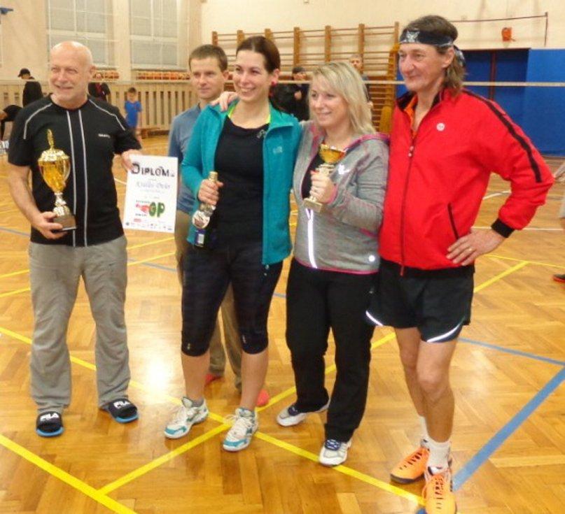 Závěrečný turnaj veteránské Grand Prix v badmintonu hostila Plzeň. Tým Krumloš obsadil konečné čtvrté místo.
