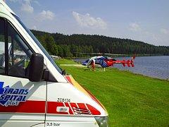 Intenzivní pokusy záchranářů o oživení muže neměly úspěch.