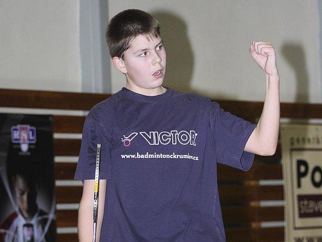 Českokrumlovský mladíček Jaromír Janáček se chlubí hned dvojnásobným umístěním v elitní desítce žebříčků mladších juniorů.