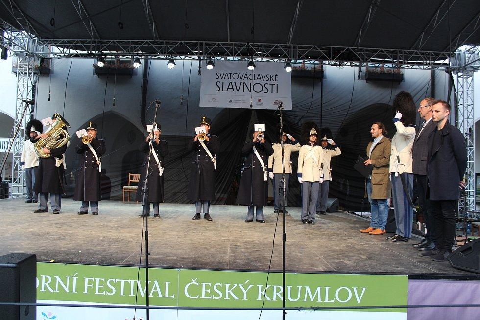 Svatováclavské slavnosti v Českém Krumlově 2019.
