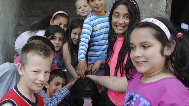 Svůj den si užily i děti ve Větřní.