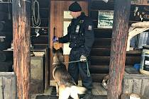 Chaty a chalupy kontrolují i policisté.