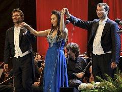 Zahajovací koncert Mezinárodního hudebního festivalu Český Krumlov 2014.