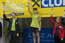 Dvanáctiletá vyšebrodská tabletenisová naděje Eva Pokorná (vlevo) prošla v soutěži challenge prestižního singlu v Linci až do finále, kde nestačila na soupeřku z Maďarska.