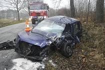 Nehoda u Bohdalovic.