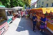 Svatobartolomějský trh a pouť ovládly v sobotu vyšebrodské náměstí.