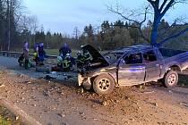 Dopravní nehoda u Římova.