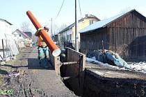 Obec chystá novou kanalizaci