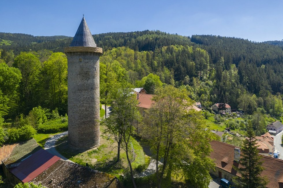 Jakobínka v Rožmberku nad Vltavou se po více než 100 letech otevřela pro veřejnost.