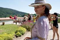 Letošní Rožmberská slavnost v Rožmberku nad Vltavou by se stejně jako ta loňská (na snímku) měla nést převážně v historickém duchu.