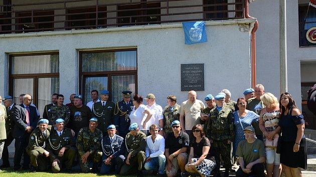 V Rožmitále vzpomínali na padlé vojáky v Jugoslávii